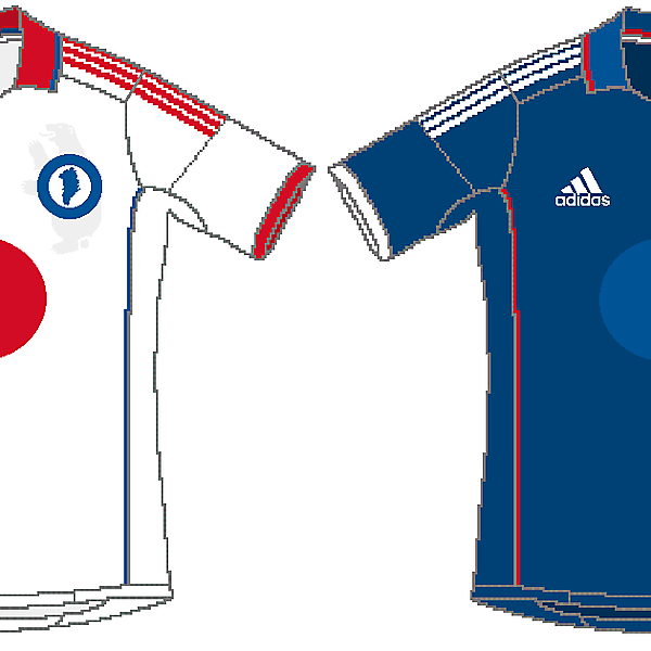 Greenland Adidas Home and Away